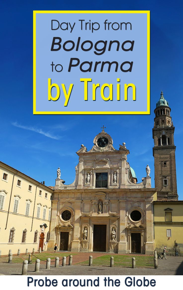 I took a day trip from Bologna to Parma by train. I'll show you how the train from Bologna to Parma works, what things to do in Parma Italy in one day. In the end, I have some other suggestions for day trips from Bologna in case you have more time to explore. Read more about this foodie filled day in Parma. #italy #traveltips