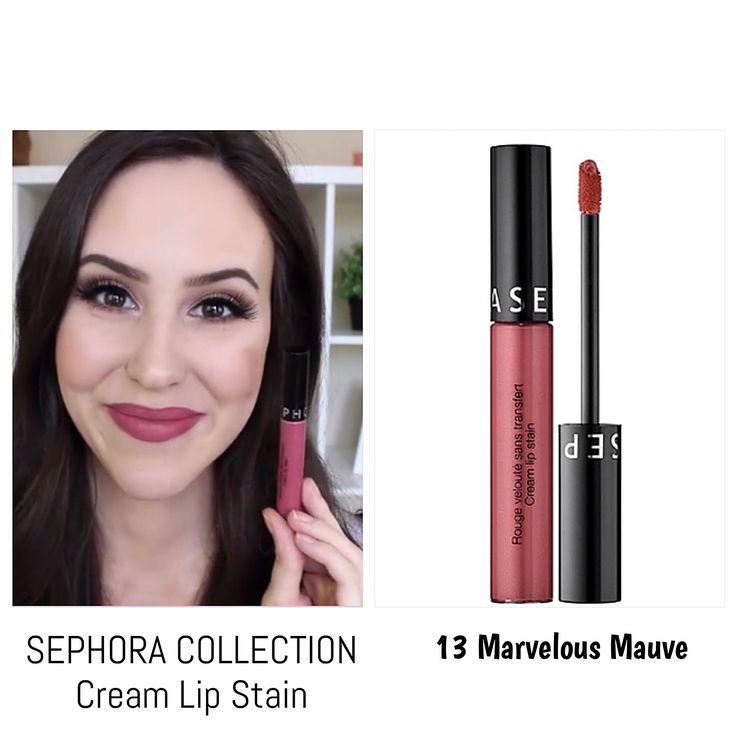 SEPHORA COLLECTION Cream Lip Stain 13 Marvelous Mauve