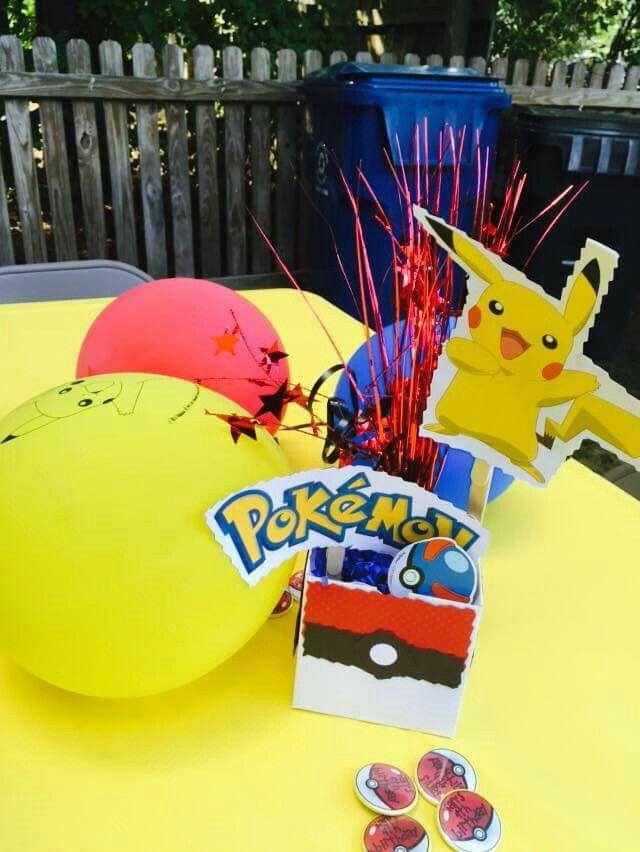 1000  images about pok u00e9mon party ideas on pinterest