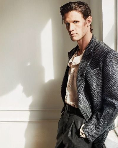 #MattSmith featured in the Dec/Jan issue of @esquire 📷: #WillDavidson  Grooming: @kumicraig / SWA  Styling: @nicksullivanesq  #SWAeditorials