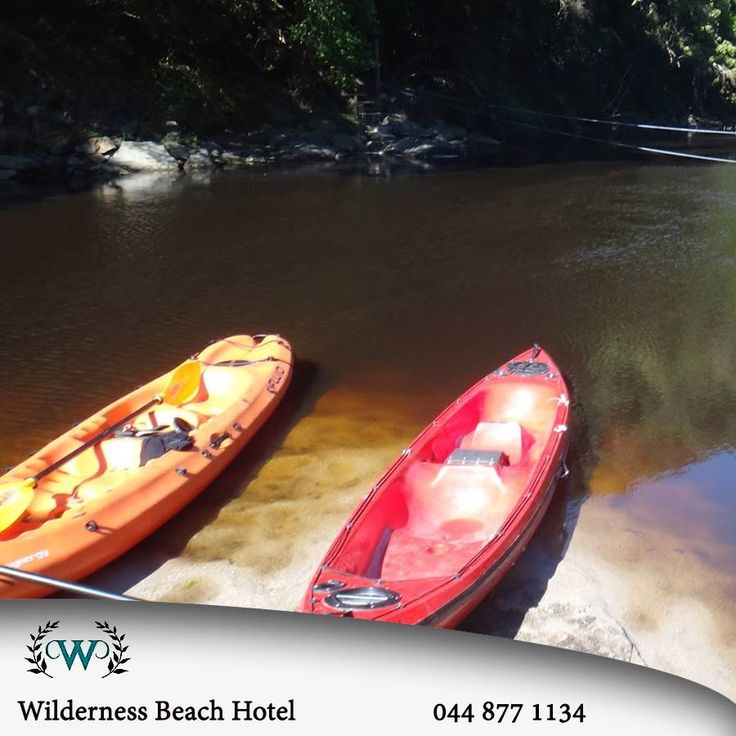 At the Wilderness Nature reserve you can hire canoes! Experience great fun while paddling along the river with dense forest all around you. #activities #destination #lifestyle