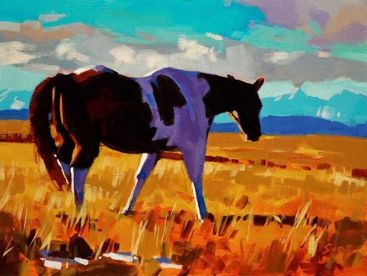 mike svob art | Free to Roam, by Mike Svob | Southwestern Art | Pinterest