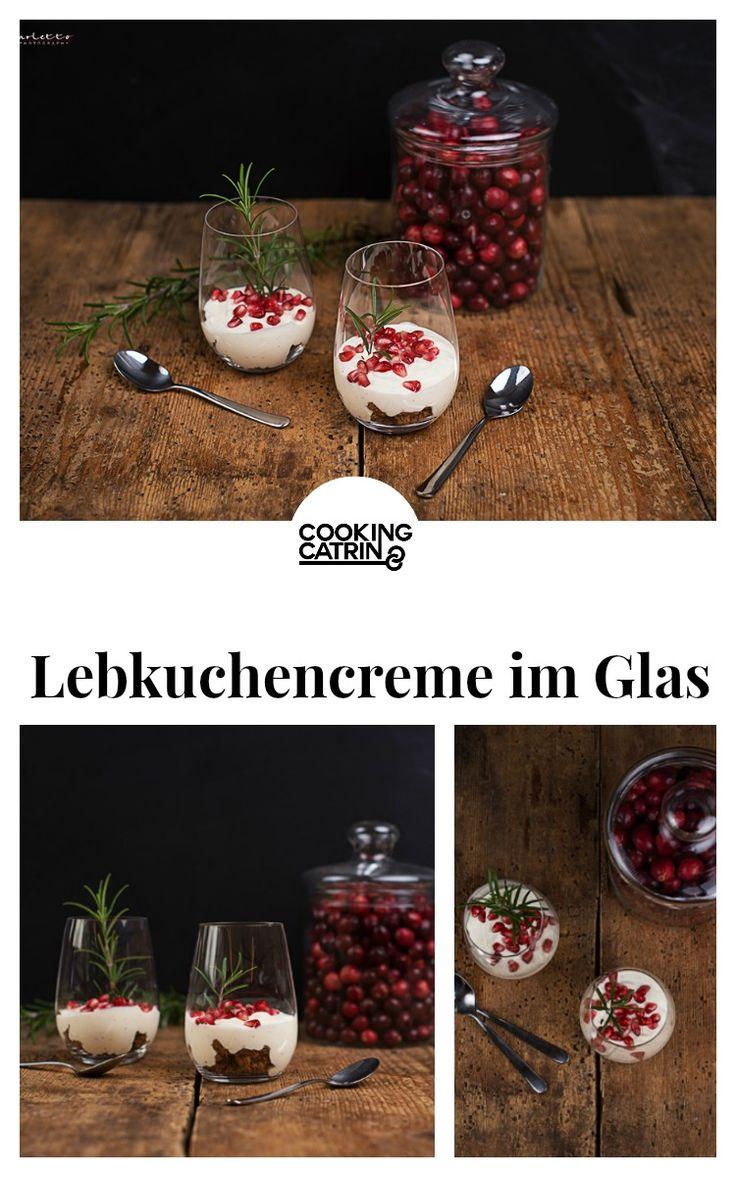 Lebkuchencreme im Glas, Lebkuchen, gingerbread cream, Lebkuchen Dessert, Lebkuchen Nachspeise, Winter Rezept, Winter Dessert, Winter Nachspeise, Weihnachts Rezept, Weihnachts dessert, christmas recipe, christmas dessert, winter recipe, winter dessert, gingerbread recipe...http://www.cookingcatrin.at/lebkuchencreme-im-glas/