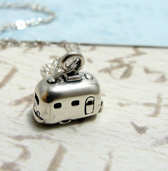 Camper RV Necklace by treasuredcharms on etsy