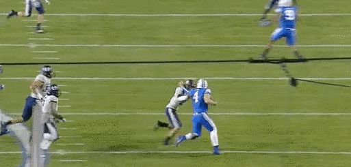 1. Taysom Hill's various broken appendages. | 7 Times BYU Sports Broke Your Heart And It Hurt