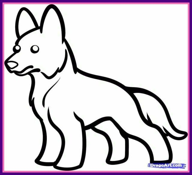 27 Exclusive Image Of German Shepherd Coloring Pages Dog