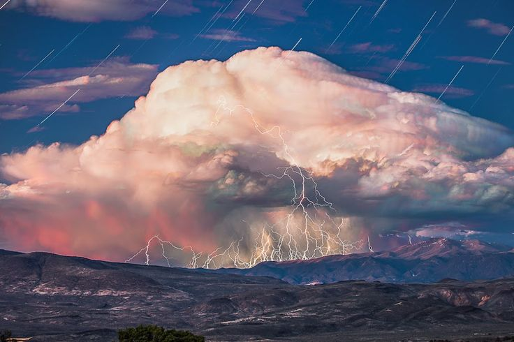 Incredible Time lapse Video Of A Storms Formation With Composite ShotPhotos, Volcano, Starry Sky, Nature, Lakes Tahoe, Storms Clouds, Lightning Storms, Storm Clouds, Stormclouds