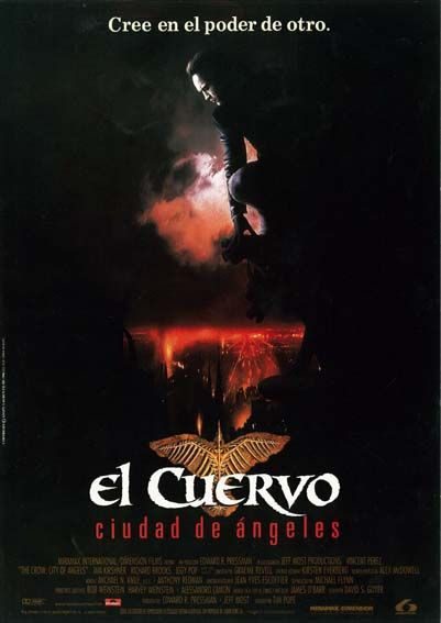 "El Cuervo: Ciudad de ángeles (1996) ""The Crow: City of Angels"" de Tim Pope - tt0115986"