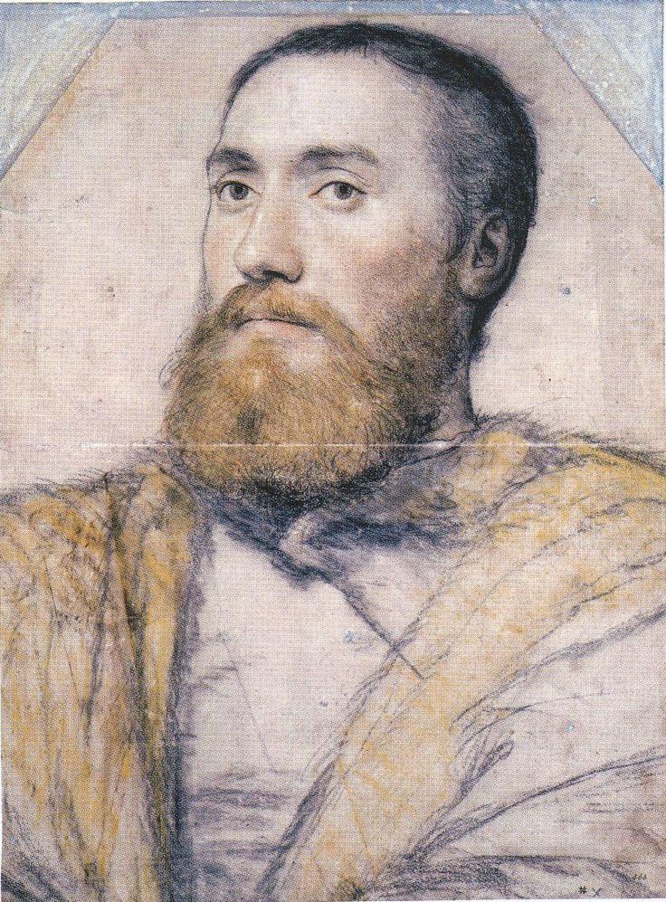 Ганс Гольбейн младший (1497-1543), Portrait of an Unidentified Gentleman. c.1535-40