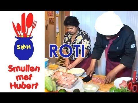 Smullen met Hubert: Roti.