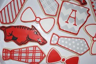Razorback cookiesGrooms Cake, Cookies Design, Arkansas Razorbacks, Cookie Designs, Razorbacks Cookies, Groom Cake, Arkansas Wp, Cookies Sports, Apple Pies