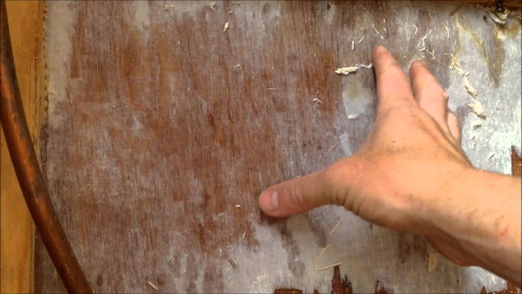 How To Fix Water Damage in a Camper