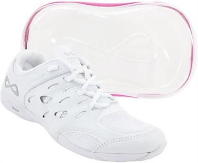 Nfinity Defiance Womens Cheer Shoes White