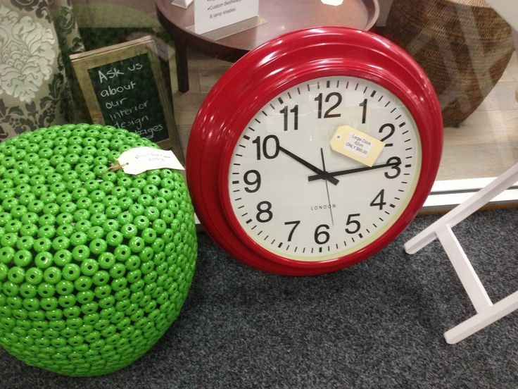 Large clock only $85.00 from Jemden Interiors
