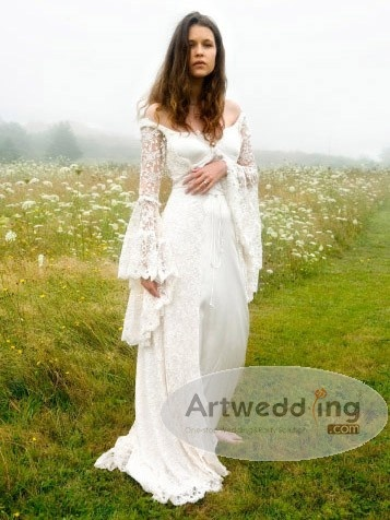 my perfect dress for my Romantic, Fairytale, Pagan Wedding