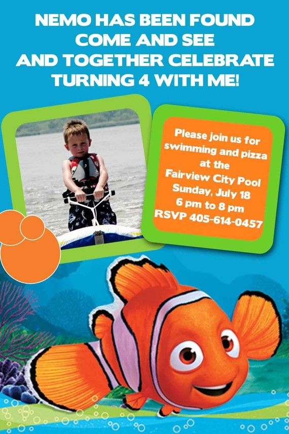 13 best Possible Nemo 1st Bday Party images on Pinterest | 3rd ...