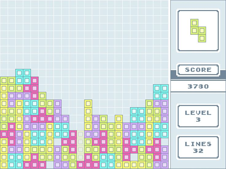 Tetris  fitacola.pt