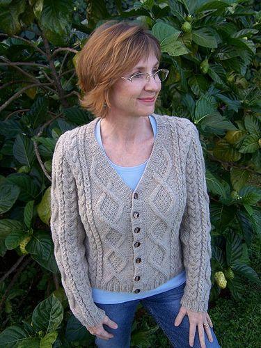 Free Downloadable Cardigan Pattern by Patons Crochet & Knitting Pinte...