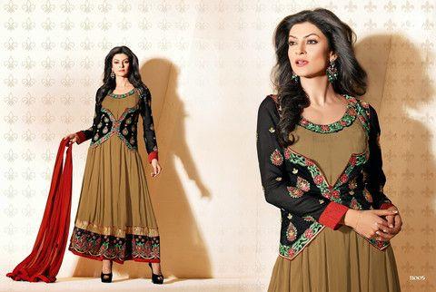 Sushmita Sen Anarkali Suits 2014-5 | Veeshack Shop