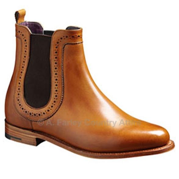 Barker Ladies Boots – Florence – Cedar Calf (Brown) Chelsea http://www.afarleycountryattire.co.uk/shop/barker-ladies-boots-florence-cedar-calf-brown-chelsea/ #barkershoes #brogues