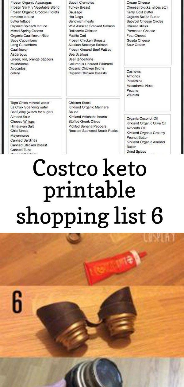 Costco Keto Printable Shopping List Huge list of Keto