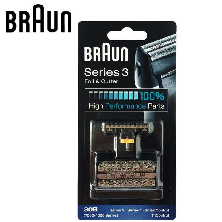 Braun Electric Shaver Blade 30B Replacement for 7000/4000 Series
