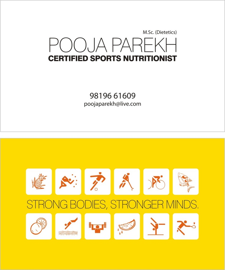62 best Girly Nutrition and Wellness Business Cards images on - visiting cards