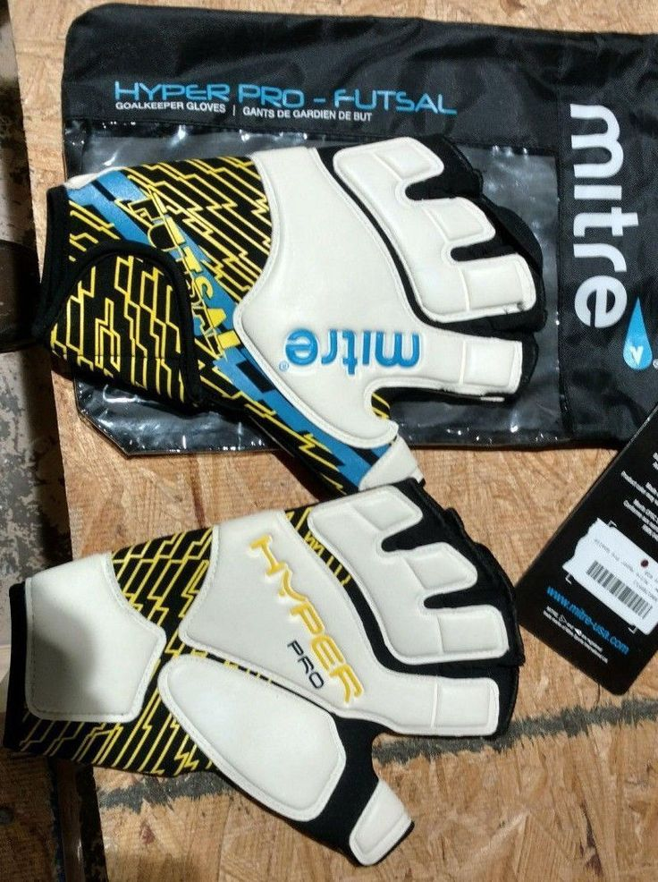 Gloves and Blockers 79763: Regent Sports Mitre Hyper Pro - Futsal Goalkeeper Goalie Gloves New With Tags -> BUY IT NOW ONLY: $32 on eBay!