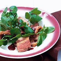 Recept - Eendenborstfilet met rode portsaus - Allerhande