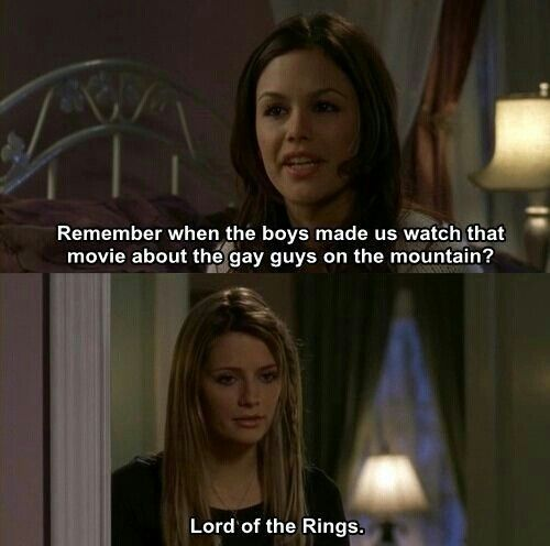 """""""Lord of the Rings."""" LOL -Marissa & Summer. #TheOC Season 3, #20: The Day After Tomorrow."""