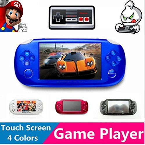 Best seller 4.3'' LCD Touch Screen 8GB 32bit Li-On Battery MD/NES/Arcade Portable Handheld Video Games Player MP4 MP5 MP3 _Black -  http://www.wahmmo.com/best-seller-4-3-lcd-touch-screen-8gb-32bit-li-on-battery-mdnesarcade-portable-handheld-video-games-player-mp4-mp5-mp3-_black/ -  - WAHMMO