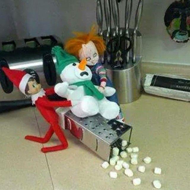 Elf On The Shelf On The Shelf And Elves On Pinterest