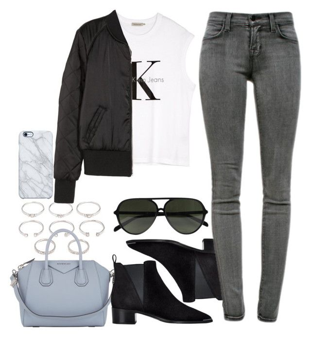 """""""Untitled #20"""" by voiceforfashion ❤ liked on Polyvore featuring Forever 21, Givenchy, Acne Studios, Uncommon, CÉLINE, J Brand, Calvin Klein and H&M"""