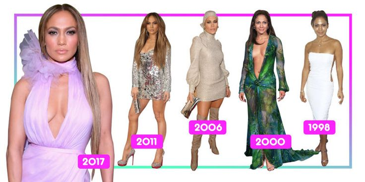 Here's a must-read article from Redbook:  Jennifer Lopez's Incredible Red Carpet Style Evolution