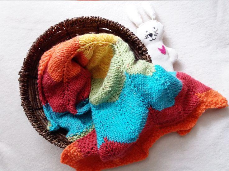130 PDF Chevron Baby Blanket Knitting Pattern / Easy Baby ...