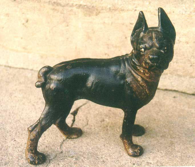 Antique Boston Terrier cast iron door stop - 27 Best Cast Iron Door Stops Images On Pinterest American
