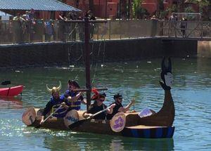 Cardboard Boat Regatta And Pirate Fest September