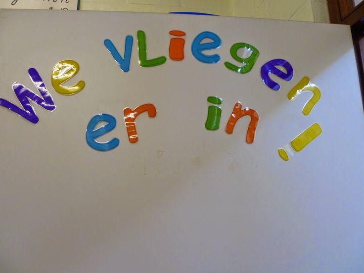 Deurversiering. Dit is de slogan, de eerste week van september wordt deze nog aangevuld, de leerlingen gaan de deur mee versieren.