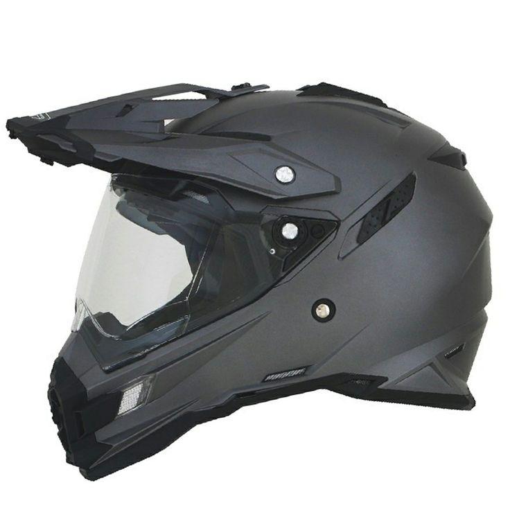 AFX FX-41 Dual Sport Helmet by Atomic Moto - Grey