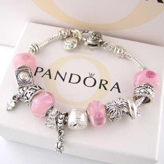 pandoraJewelry Necklacesbraceletsear, Pandora Jewelry, Silver, Pandora Charms, Pandora Bracelets, Pink, Beads, Charms Bracelets, Christmas Gift