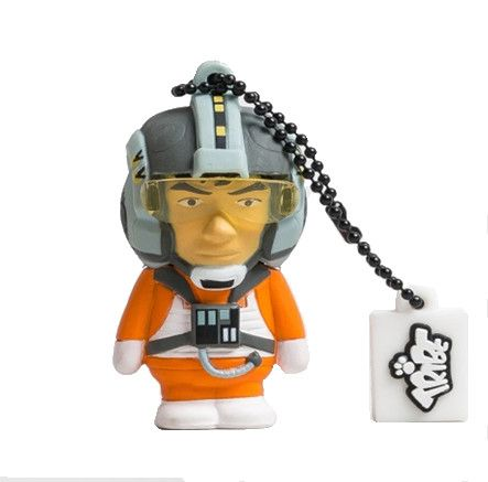X-WING PILOT - Officially licensed by Disney, this 3D USB flash drive is available in both 8GB and 16GB memory sizes.