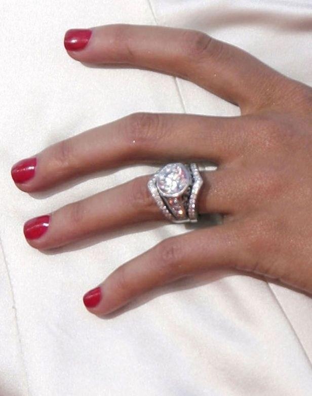 Christina aguilera from jordan bratman dream rings for Huge wedding rings for women