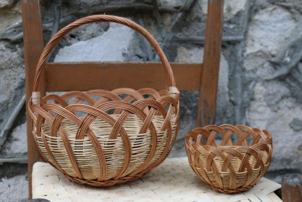 making honeysuckle baskets - Google Search