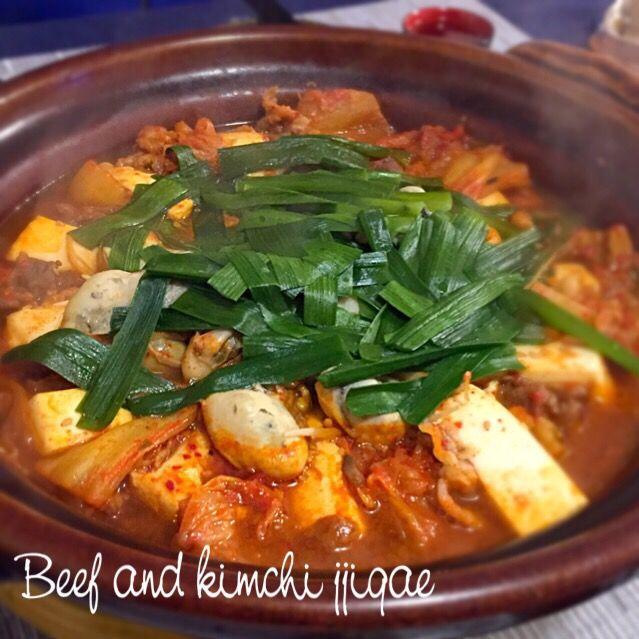 キムチがあるときに作りたくなるお鍋です。 こちらも韓国人のお友達に教えてもらったレシピです。 牡蠣が安くなってきたので、入れてみたらさらに美味しさ倍増 - 194件のもぐもぐ - キムチ牛肉チゲ♡牡蠣入りで♡ by Mayutak