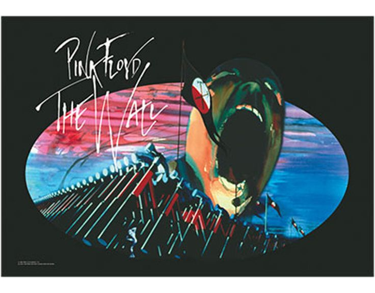 Pink Floyd - The Wall Marching Hammers - Textile Poster Flag. Officially licensed product. FREE SHIPPING