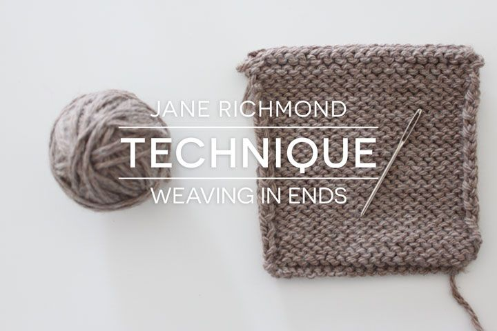 Finishing up some knitted gifts? Make sure that you weave those ends in properly with this thorough tutorial by Jane Richmond for Very Shannon.