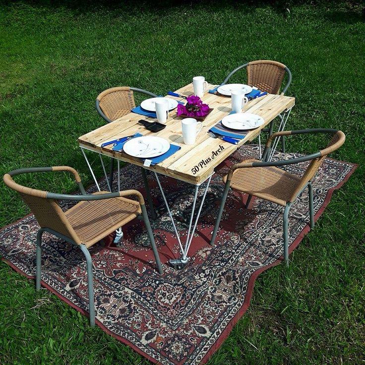 Comedor por 50plusarch #pallet #palet #diseño #reciclado #50plusarch