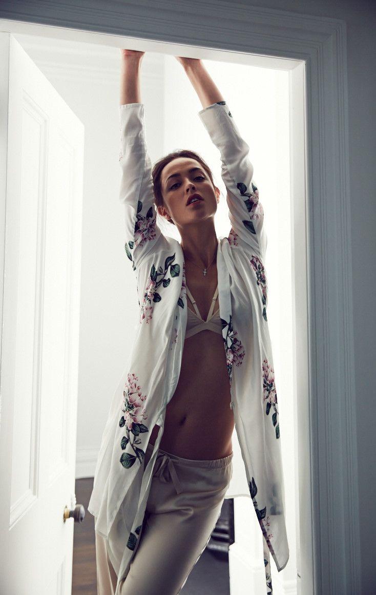 Robe by Ruby, Bra by Lonely, Pyjamas by Willa & Mae
