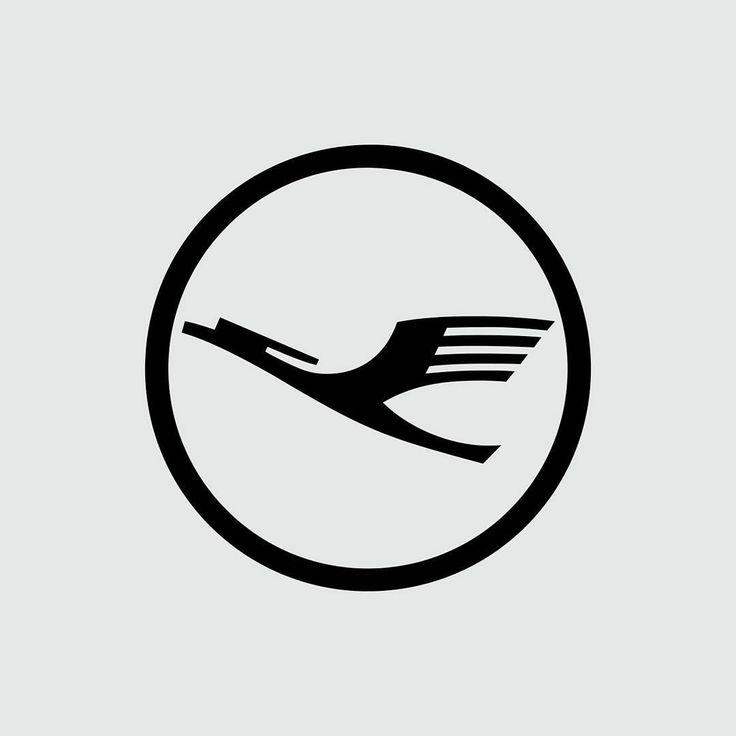 """Lufthansa by Otl Aicher   1962  #logotheke #logo #logomark #logodesigner #logoinspirations #logoinspiration #logolove #logobrand #brand #branding…"""