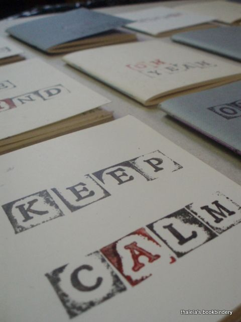 Pocket notebooks (8x8 cm). Hand printed messages. Choose yours!